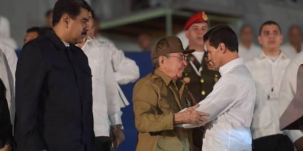 """Raul Castro jure de """"défendre le socialisme"""" après la mort de Fidel - La Libre"""