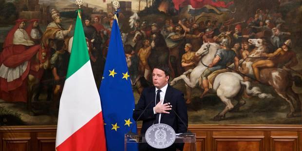 Matteo Renzi annonce sa démission après une nette défaite au référendum - La Libre