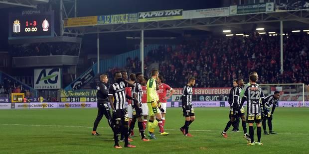 Charleroi et le Standard écopent d'une amende de 25.000 € chacun suite aux incidents de ce dimanche - La Libre