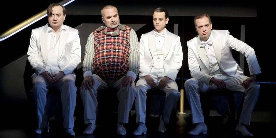 """Trois types complètement Dada dans """"Par-delà les marronniers"""", bientôt au Théâtre de Liège - La Libre"""