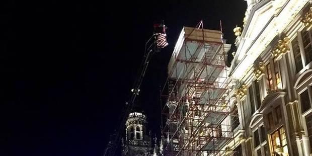 Que faisait cet homme sur les toits des bâtiments de la Grand-Place de Bruxelles ? (PHOTOS) - La Libre