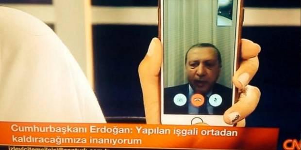 Turquie: une journaliste raconte l'appel d'Erdogan qui a fait dérailler le putsch - La Libre
