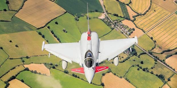 La RAF porte ses Typhoon aux nues - La Libre