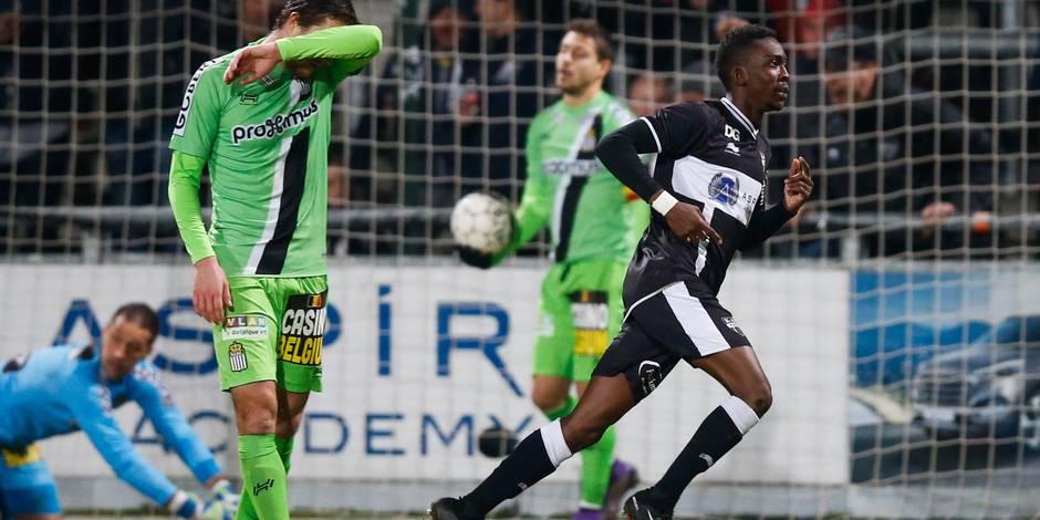 Charleroi remonte deux fois mais est accroché à Eupen (2-2)