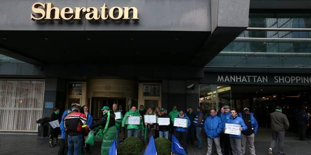 Le Sheraton de Bruxelles en faillite: deux curateurs désignés - La Libre