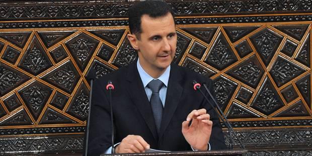 """Assad affirme que les Syriens """"écrivaient l'Histoire"""" avec la """"libération"""" d'Alep - La Libre"""
