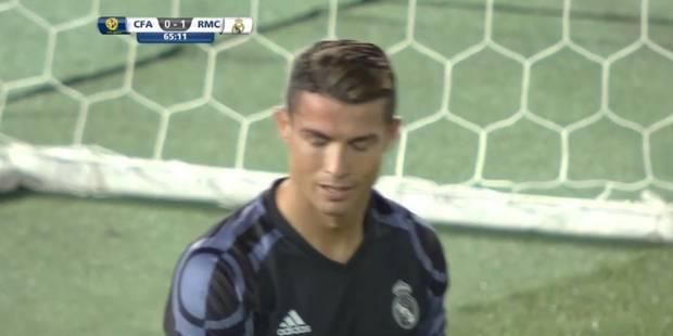 Le pire raté de la carrière de Cristiano Ronaldo? (VIDEO) - La Libre