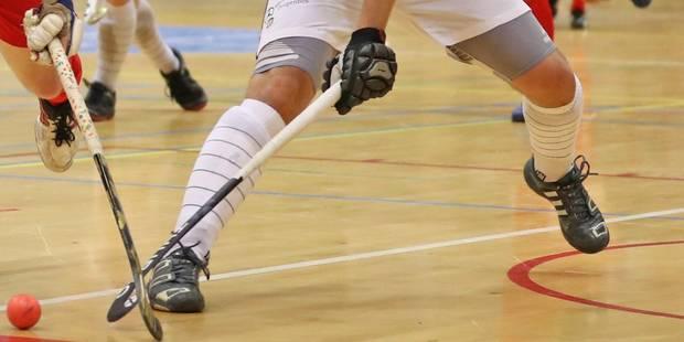 Hockey en salle: le Racing et le White s'isolent devant - La Libre
