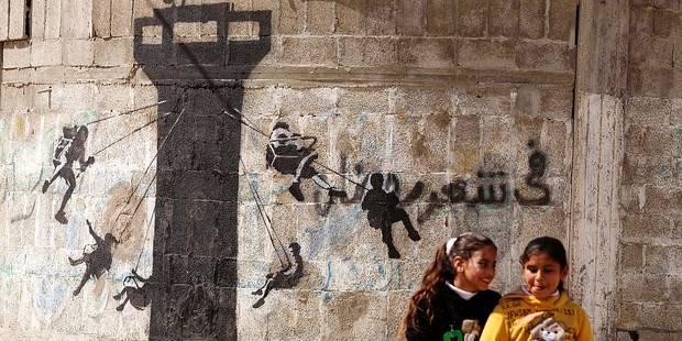 L'exposition sur Banksy s'installera à Anvers - La Libre