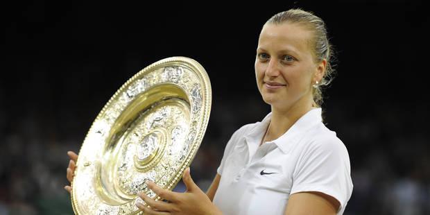 La double vainqueur de Wimbledon Petra Kvitova attaquée au couteau chez elle - La Libre