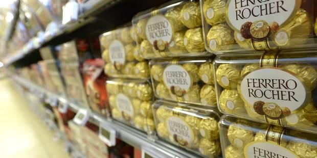 Ferrero fête ses 70 ans, en consommant un tiers des noisettes mondiales - La Libre