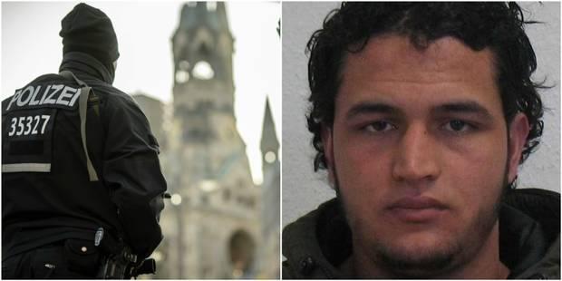 Berlin: le suspect tunisien était soupçonné de préparer un attentat ; un avis de recherche européen lancé - La Libre