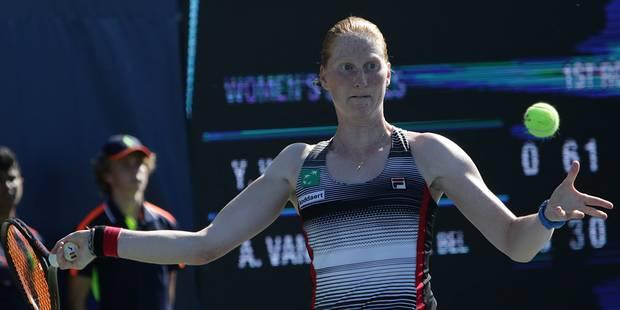 Alison Van Uytvanck, qui va être opérée au bras, doit renoncer à l'Open d'Australie - La Libre