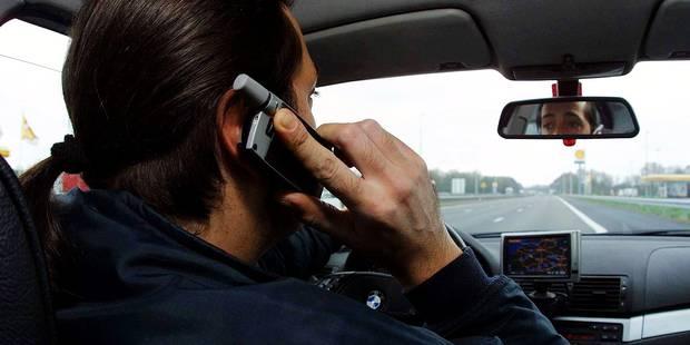 GSM au volant : 1627 PV en six mois dans le BW - La Libre