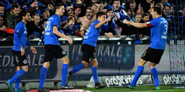 Le Club de Bruges bat Mouscron et reprend la première place à Anderlecht (2-1) - La Libre