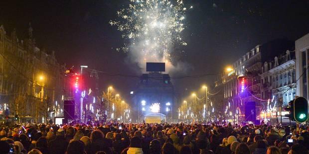 Animations et feu d'artifice: voici le programme du réveillon du Nouvel An à Bruxelles - La Libre