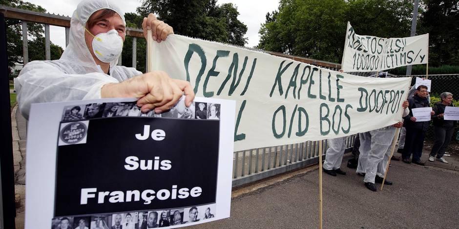 """L'amiante se réinvite au tribunal : """"On nous a proposé d'acheter notre silence contre une enveloppe de 42.000 euros"""""""
