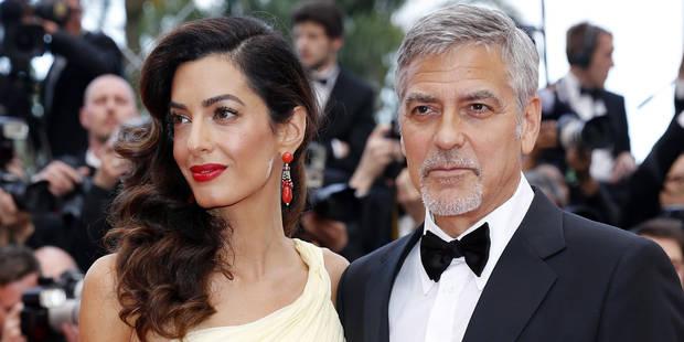 Amal Clooney enceinte ...