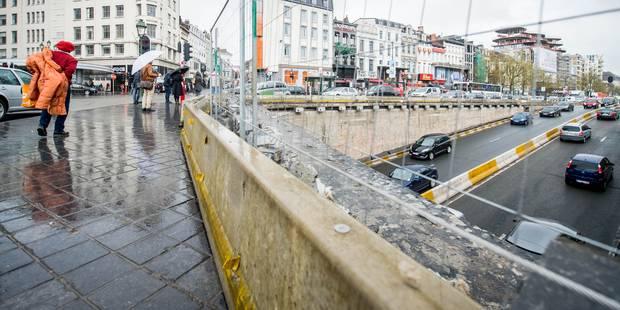Les tunnels Porte de Namur et Louise sont rouverts à la circulation - La Libre