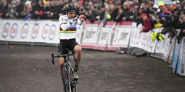 Wout van Aert s'offre un deuxième titre national après une démonstration à Ostende - La Libre