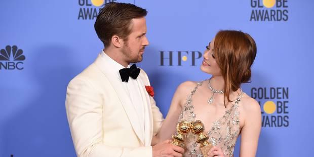 """""""La La Land"""" et la coproduction belge """"Elle"""" triomphent aux Golden Globes - La Libre"""