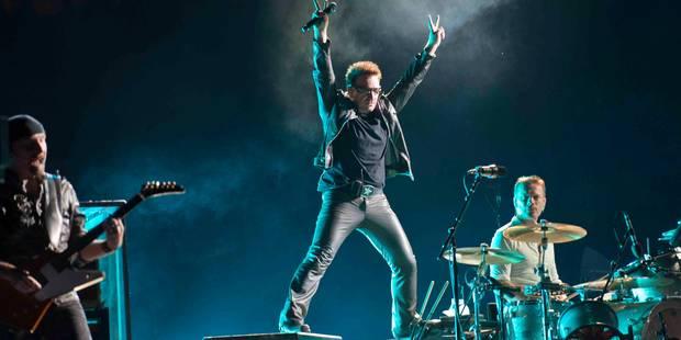 Le groupe U2 en concert au stade Roi Baudouin le 1er août 2017 - La Libre