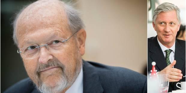 Le roi Philippe a rendu un dernier hommage à Luc Coene - La Libre