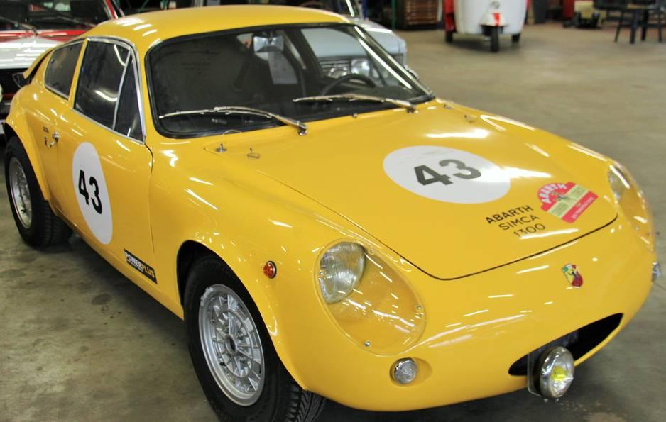 Cette Abarth Simca 1300 aurait fait partie de l'Ecurie  Nationale Belge.