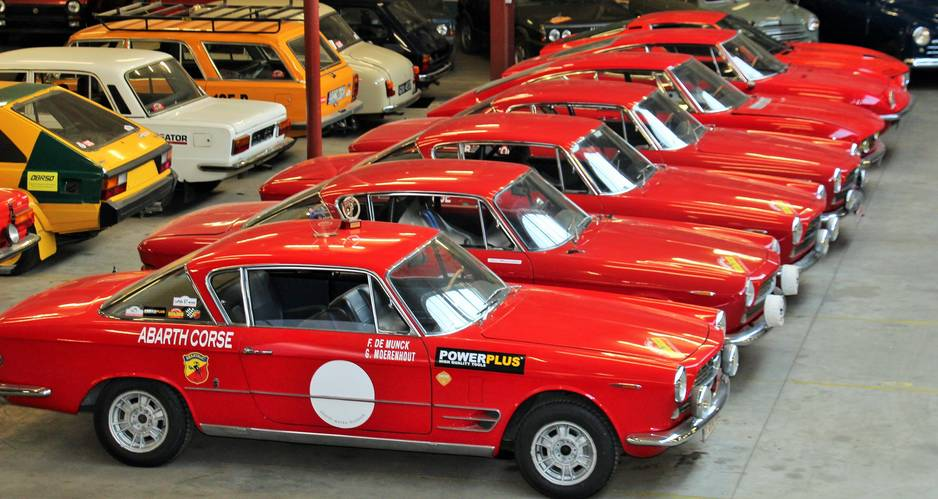 Une impressionnante série de coupés Fiat 2.3.