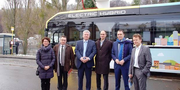 Les bus zéro émission débarquent à Namur - La Libre