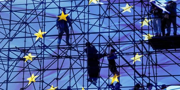 European flag;Construction de l'Union EuropŽenne; Reporters / EUREKA