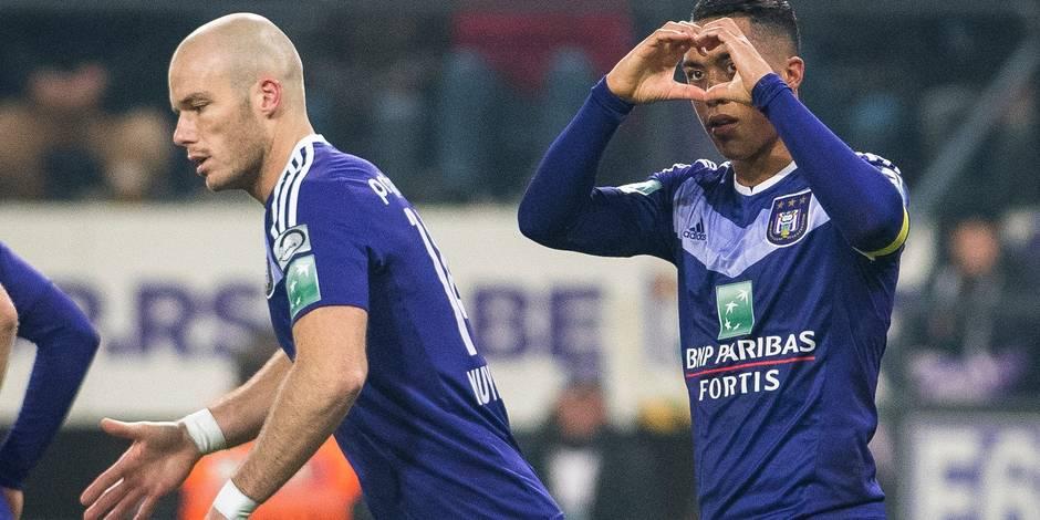 Anderlecht domine Saint-Trond sans forcer (3-1)