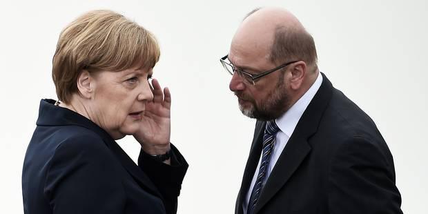 Elections législatives en Allemagne: vers un duel Merkel - Schulz - La Libre