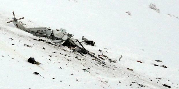 Accident d'hélicoptère en Italie: les six personnes à bord sont mortes (PHOTOS) - La Libre