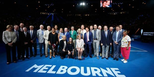 L'entrée de Kim Clijsters dans le Hall of Fame du tennis célébrée à Melbourne - La Libre