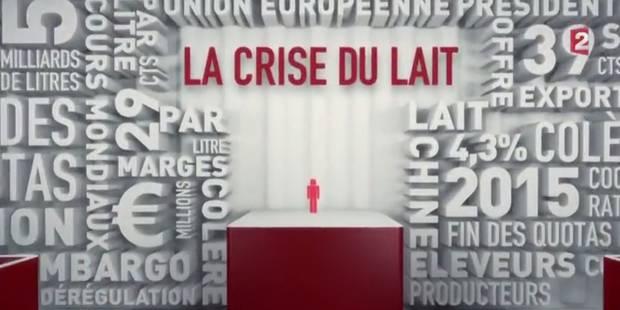 Lactalis rompt le contrat de producteurs de lait après un 'Envoyé spécial' (VIDEO) - La Libre