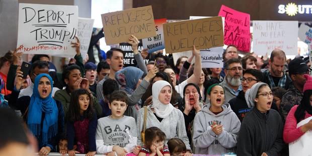 Inquiète, la Silicon Valley dénonce le décret anti-immigration de Donald Trump - La Libre