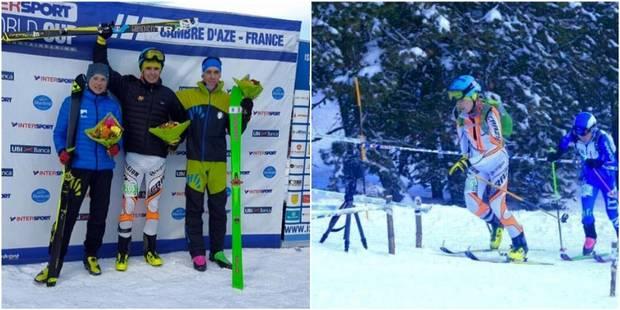 Maximilien Drion, un jeune Belge qui brille en coupe du monde de ski-alpinisme - La Libre
