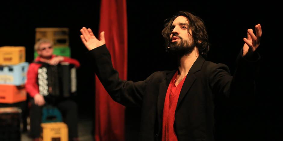 David Murgia, donne voix aux sans-voix (CRITIQUE) - La Libre