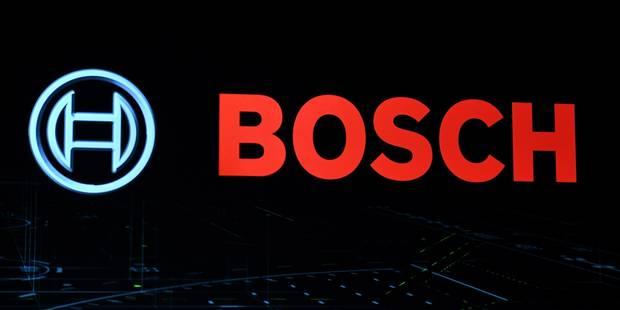 Bosch va payer 327,5 millions de dollars de dédommagements aux Etats-Unis - La Libre