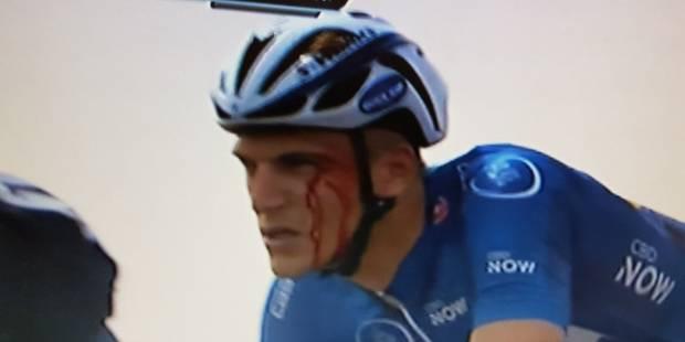 Rififi dans le peloton du Tour de Dubaï: Kittel frappé par un Astana - La Libre