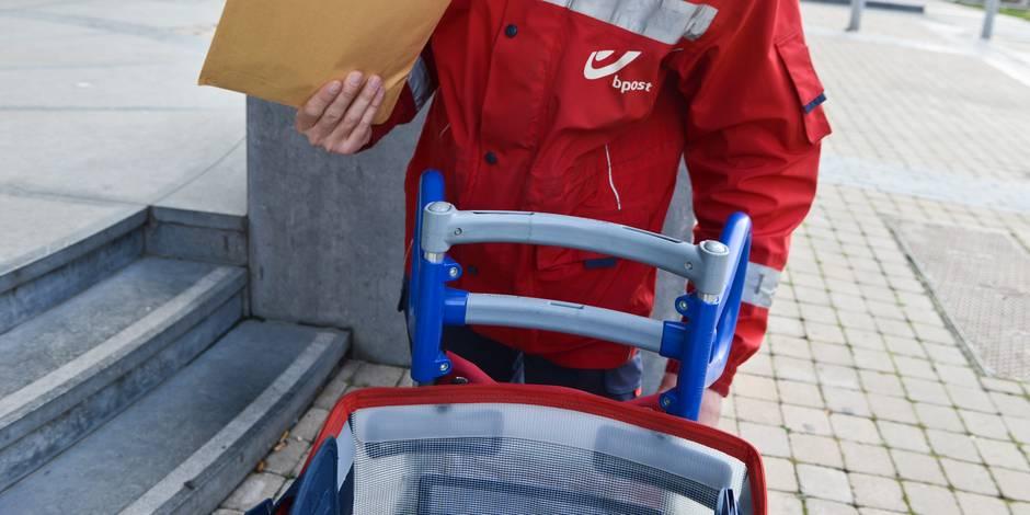 """bpost: Arrêt de travail spontané au centre de tri de Bruxelles, """"un impact important sur la distribution du courrier"""""""