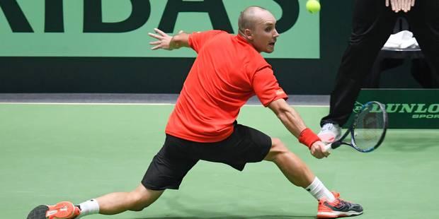 Coupe Davis: Steve Darcis crée l'exploit face à Zverev et envoie la Belgique en quarts!? - La Libre