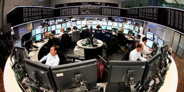 Bourse de Bruxelles: le Bel 20 et ses voisins ont terminé dans le rouge à cause des incertitudes politiques - La Libre