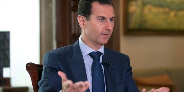 """Bachar el-Assad : """"Je ne suis pas reconnaissant envers la Belgique"""" - La Libre"""