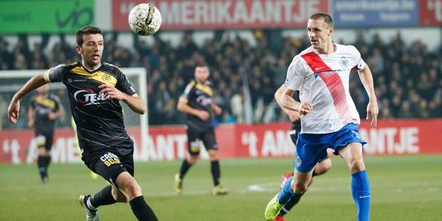 Le Club de Bruges s'incline à Lokeren et laisse Anderlecht revenir à sa hauteur (1-0) - La Libre