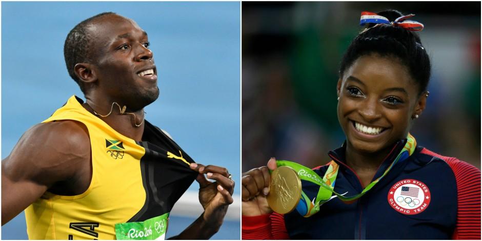 Usain Bolt et Simone Biles élus Sportif et Sportive de l'année aux Laureus World Awards 2017