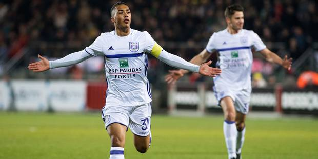Tielemans et Anderlecht font le spectacle à Ostende (1-4) - La Libre