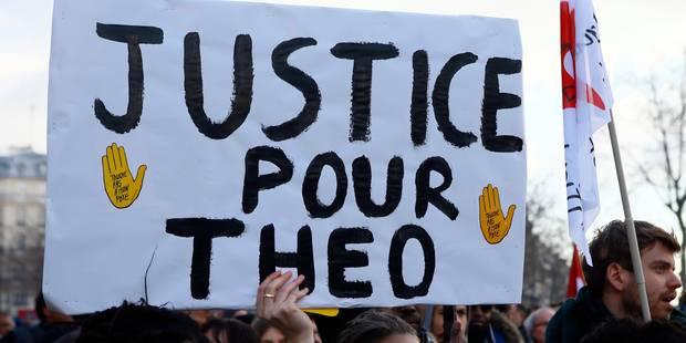 Affaire Theo en France: le policier doit être jugé pour viol selon la justice - La Libre