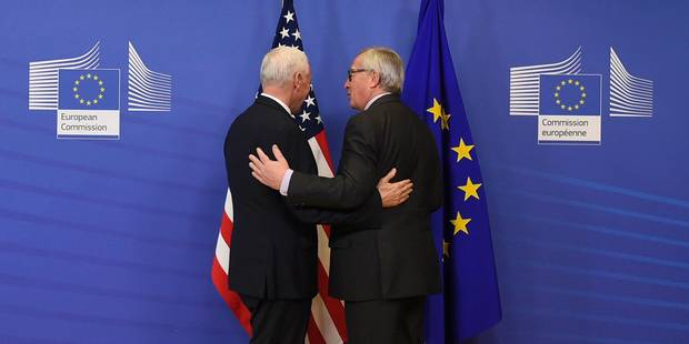 Après le passage de Mike Pence à Schuman, les Américains sont toujours nos amis (Rassurés?) - La Libre